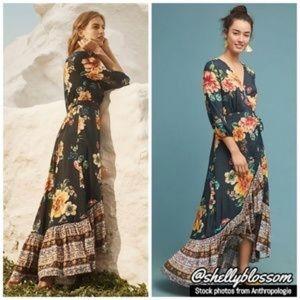 Anthropologie, Farm Rio Majorca dress, size small